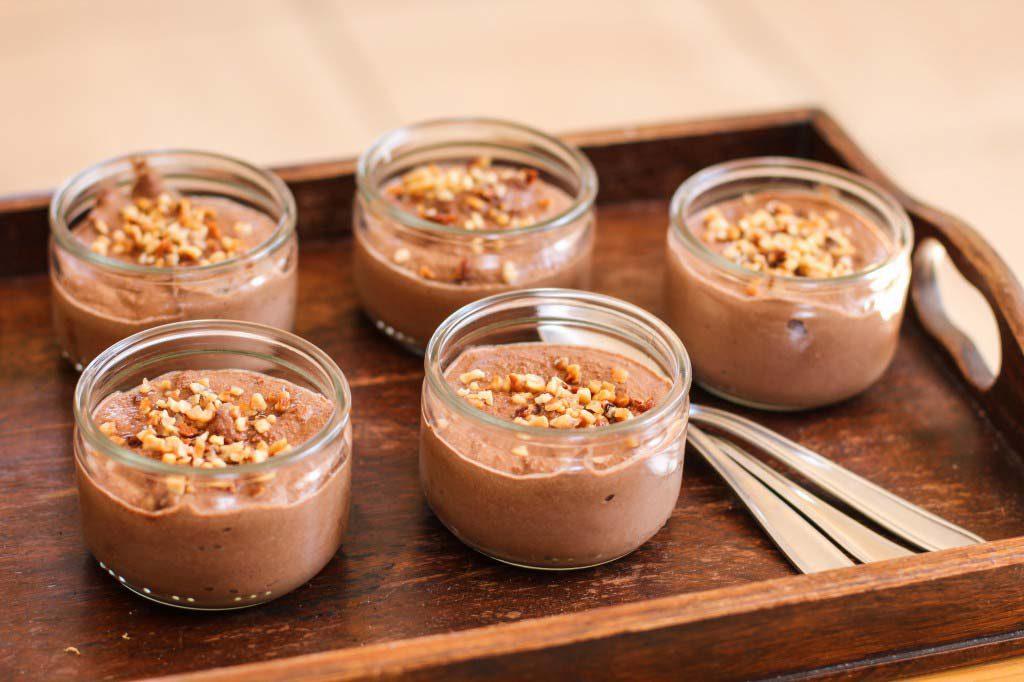 Crème dessert au Chocolat et Potimarron