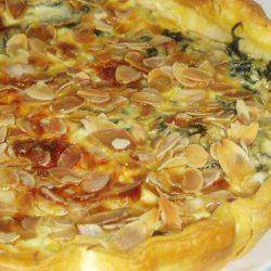 recette Quiche de feuilles de blettes