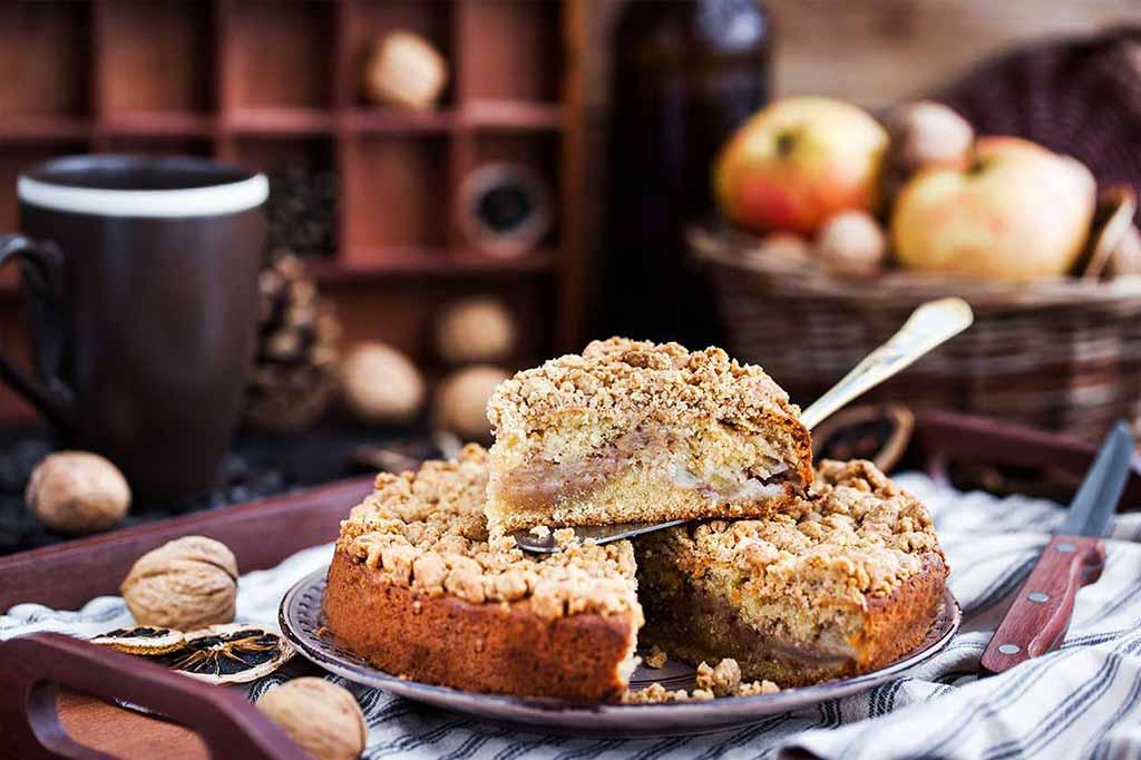 recette crumble aux pommes sans gluten
