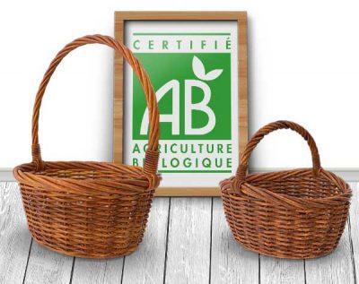 Paniers de fruits et légumes Bio chaque semaine