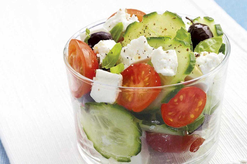 Salade feta grecque Bonneterre aux olives noires
