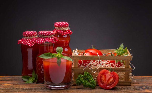 Jus de tomates et radis avec l'extracteur Kuvings