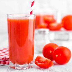 Recette de jus de tomates avec l'extracteur Kuvings