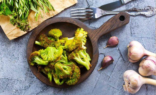 Recette brocoli à l'ail bio