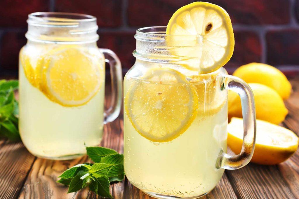 verres de citronnade