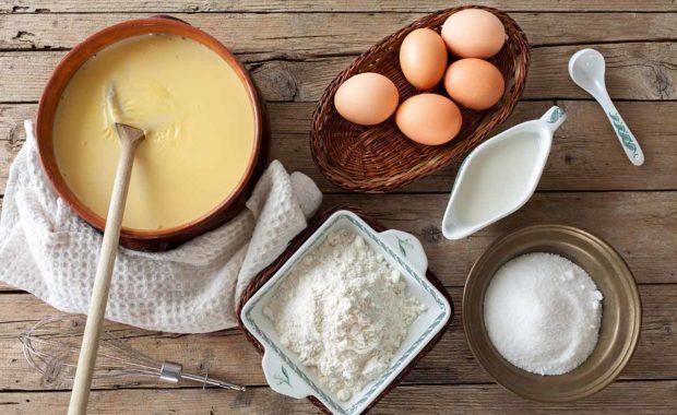 ingrédients crème anglaise