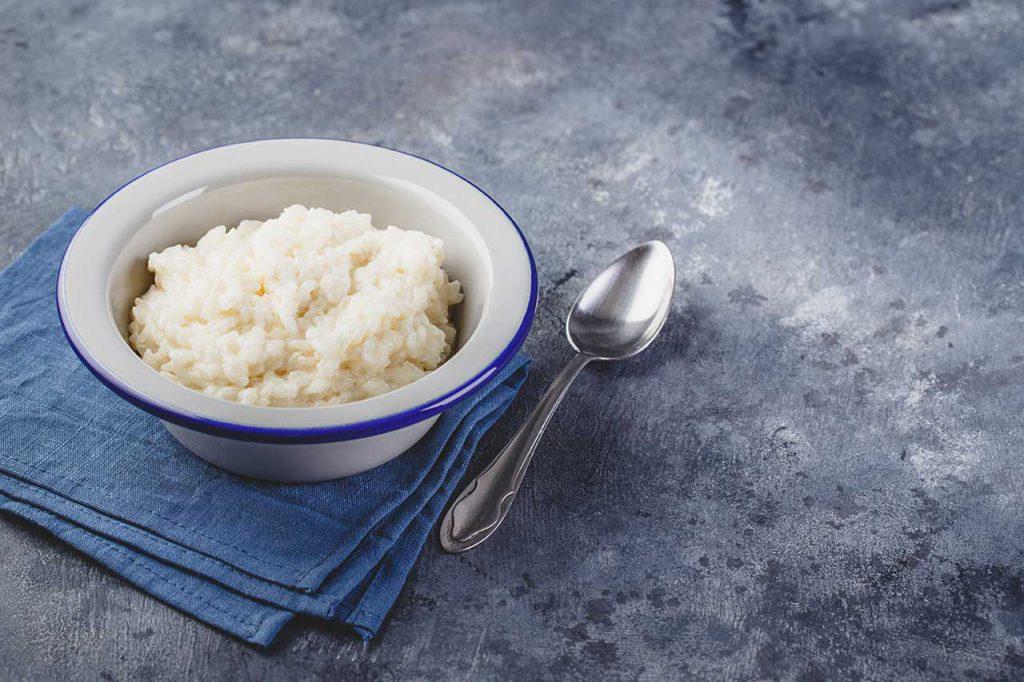 bol de riz au lait